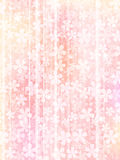 Background of pink flowers. Vector illustration.Original paintings and drawing stock illustration