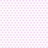 Background of pink hearts. Bright colored red hearts love seamless pattern background for use in design for valentines day or wedding Royalty Free Stock Photo