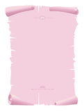 Background pink old paper Royalty Free Stock Images
