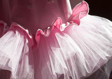 Background from pink skirts tutu Stock Images
