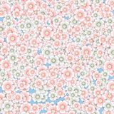 Background of pink and white cherry blossoms. Royalty Free Stock Photo