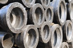 Background of pipes Royalty Free Stock Photos