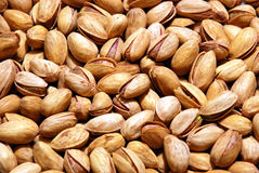 Background of pistachio nuts. Background of healty pistachio nuts Royalty Free Stock Photo