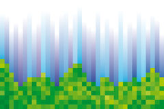Background pixelated Royalty Free Stock Image