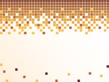 Background with pixels Stock Images