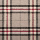 Background of plaid wool fabric Royalty Free Stock Photos