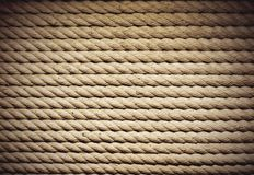 Mariner background. Background with the plaited ropes royalty free stock photography