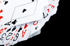 Background with playing cards Royalty Free Stock Image