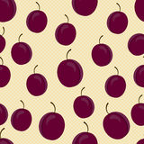 Background with plums Stock Image