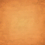 BACKGROUND with points pattern - ORANGE Stock Image