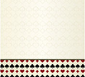 Background for poker. Made from four colors Royalty Free Stock Photos