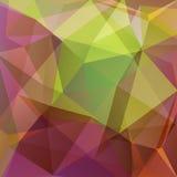 Background-09 poligonale Fotografia Stock