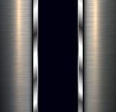 Background polished metal Stock Images