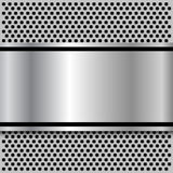 Background polished metal Royalty Free Stock Photography