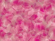 Background. Polygon abstract geomethric pink background Stock Image