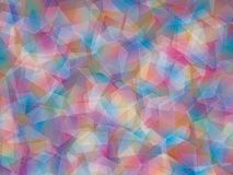 Background. Polygon geomethric blue-pink-brown-purple background stock illustration