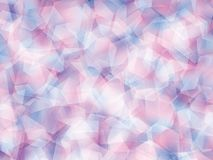 Background. Polygon geomethric blue-pink-white background royalty free illustration