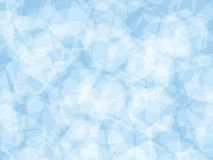 Background. Polygon geomethric light blue background Royalty Free Stock Images