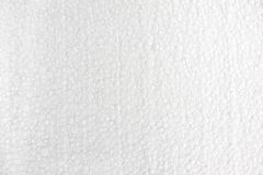 Background of polystyrene. The image describes the background image or a texture made ​​of white polystyrene Royalty Free Stock Photo