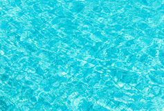 Background of pool water Stock Photos