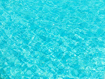Background of pool water Stock Images