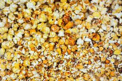Background, popcorn Royalty Free Stock Photography