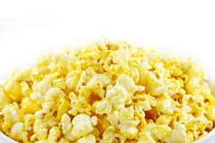 Background of popcorn Stock Photos