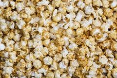 Background of popcorn Stock Image