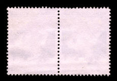 Background Postage stamp. The reverse side of a postage stamp stock images