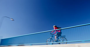 Background for poster or advertisment pertaining to cycling Stock Photography