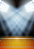 Background for posters night volleyball stadium in Royalty Free Stock Photo