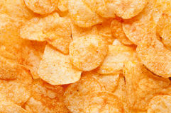 Background potato chips Royalty Free Stock Photography
