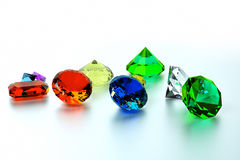 Background of precious stones Stock Image