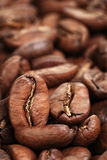 Background of premium roasted coffee beans Royalty Free Stock Photos