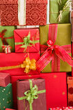 Background of presents Stock Images
