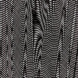 Psychedelic pattern. Background with psychedelic pattern in black and white Stock Photos