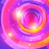 Background_purple del espectro del mosaico Imagenes de archivo