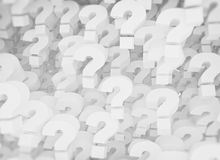 A background of question mark signs royalty free stock image