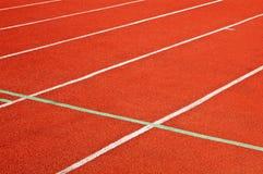 Background of racecourse of stadium Stock Photography