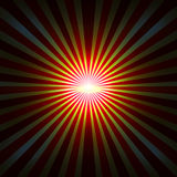 Background with radial rays Stock Image