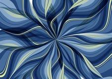 Background radiation Blue Wave drape Stock Photography