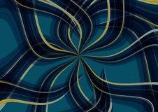 Background radiation random drape. Texture design stock illustration