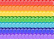 Background rainbow. An illustration of a rainbow Stock Illustration