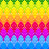 Background with rainbow ellipses Stock Photography