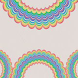 Background With Rainbow Pattern Royalty Free Stock Photos
