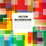 Background Rainbow Text Stock Photo