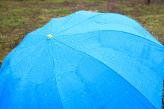 Background with rainy umbrella Royalty Free Stock Photography