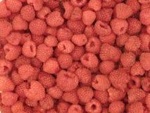 Background of raspberries Stock Photos