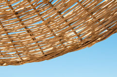 Free Background  Rattan Parasol Of Wicker Stock Photography - 39751822
