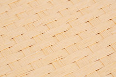Background. Rattan placemat texture for background, close-up image Stock Photography